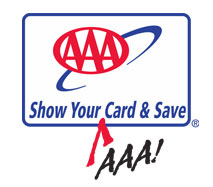 Show Your AAA Card & Save!