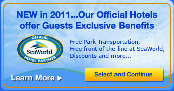 New in 2011...Our Official Hotels offer Guests Exclusive Benefits