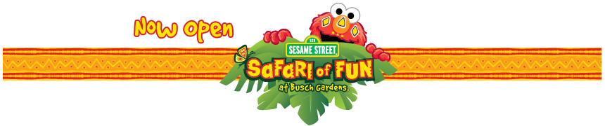 Coming Spring 2010: Sesame Street Safari of Fun